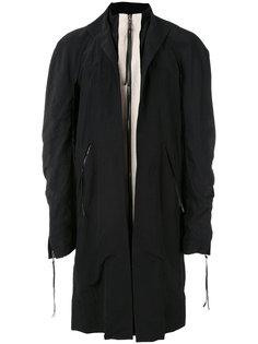 пальто на молнии Cedric Jacquemyn