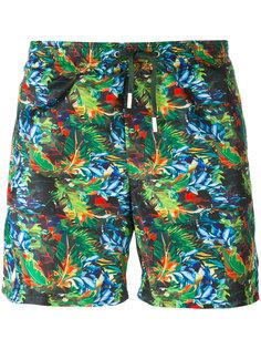 шорты для плавания с тропическим принтом Fefè