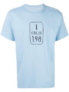 футболка с графическим принтом Visvim