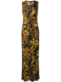 длинное платье Lana  Philipp Plein