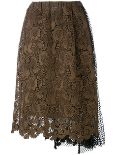 lace and netting skirt Nº21