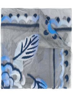 шарф с принтом Armani Collezioni