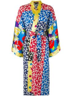 платье с запахом и абстрактным принтом Duro Olowu