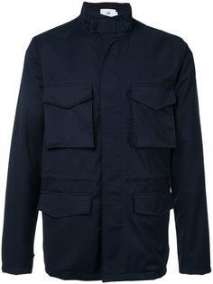 zipped coat Closed