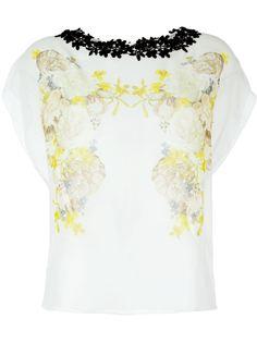 декорированная  блузка  Giambattista Valli