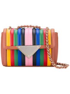 полосатая сумка на плечо Sara Battaglia