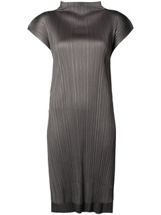high neck pleated top Pleats Please By Issey Miyake