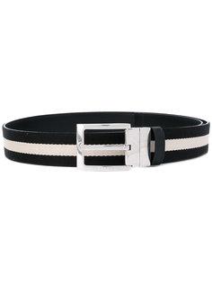 contrast panel belt Bally