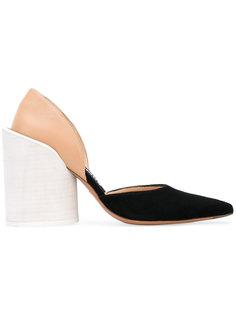 туфли с массивном каблуке Jacquemus