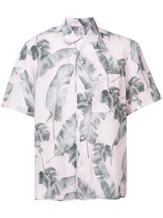рубашка с листьями Oamc