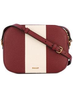 сумка через плечо с контрастной полосой Bally