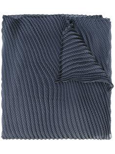 текстурированный шарф Armani Collezioni