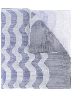 шарф с волнистым узором Armani Collezioni