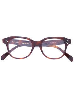 очки в черепаховой оправе Céline Eyewear