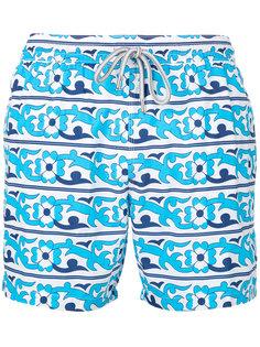 floral print swim shorts Capricode