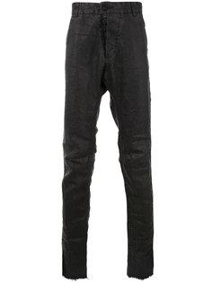 джинсы с заниженным шаговым швом Cedric Jacquemyn