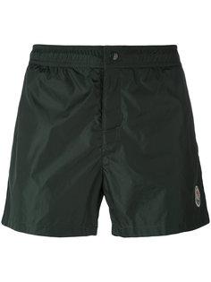 шорты для плавания с трехцветной отделкой Moncler
