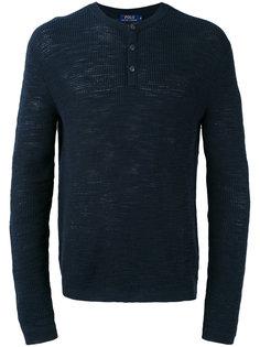 свитер с пуговичной планкой Polo Ralph Lauren