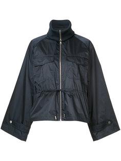 broad lapel oversized jacket Ganni