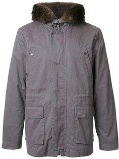 дутая куртка с капюшоном Yves Salomon Homme