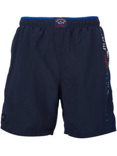 шорты для плавания с логотипом Paul & Shark