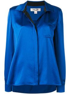 блузка с металлическим блеском Diane Von Furstenberg