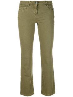 укороченные расклешенные джинсы Incotex