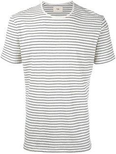 полосатая меланжевая футболка Folk