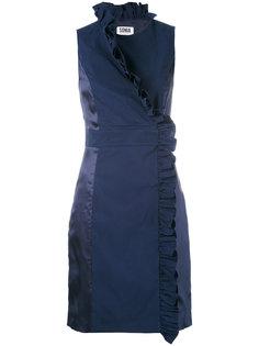 платье без рукавов с рюшами Sonia By Sonia Rykiel
