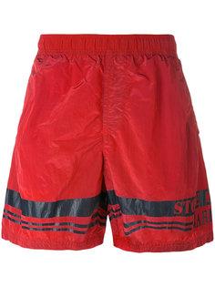 шорты для плавания с логотипом Stone Island