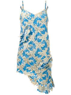 асимметричное кружевное платье Marquesalmeida