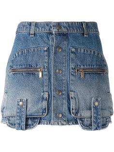 мини-юбка карго Saint Laurent