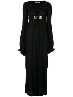 декорированное длинное платье  Amen Amen.