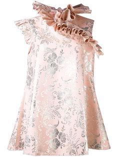 frill neck dress Marquesalmeida