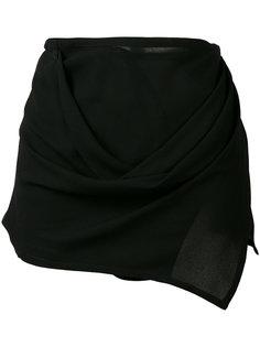 юбка с запахом Ann Demeulemeester