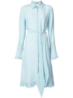 checked day dress Altuzarra