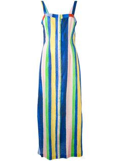 платье длины миди Sheath Mara Hoffman