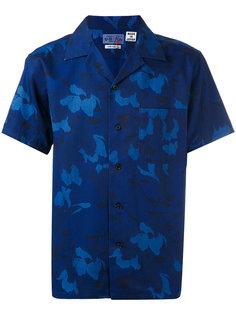 рубашка с цветочным принтом Blue Blue Japan