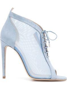 туфли Lobelia на шнуровке с прозрачными панелями  Chloe Gosselin