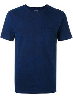 футболка с нагрудным карманом Blue Blue Japan
