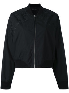shoulder embroidery bomber jacket Rag & Bone /Jean