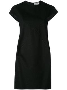 короткое платье с лямкой на спине Courrèges