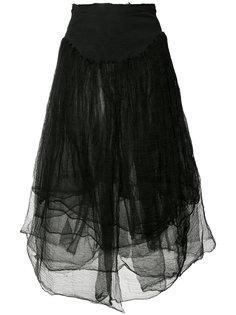 тюлевая юбка с эффектом поношенности Marc Le Bihan
