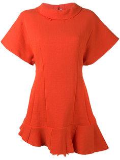 short sleeve asymmetric top A.W.A.K.E. Awake