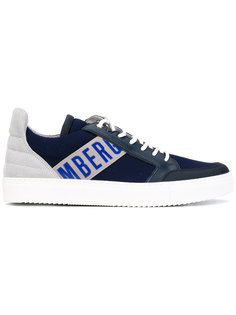 leather-trimmed sneakers Bikkembergs