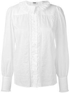 pleated front shirt  Sonia By Sonia Rykiel
