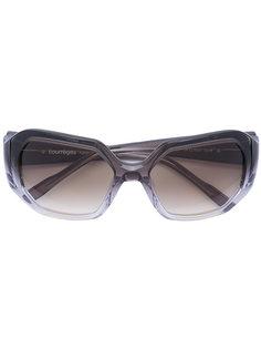 солнцезащитные очки в квадратной оправе Courrèges