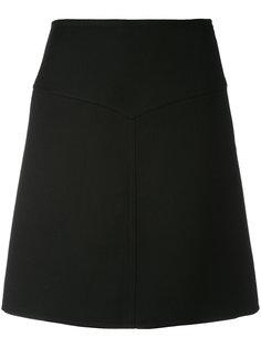 юбка с завышенной талией Courrèges