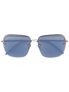 square tinted sunglasses Pomellato