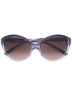 солнцезащитные очки округлой формы Courrèges